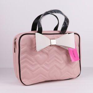 NWT Betsey Johnson Makeup Travel Bag